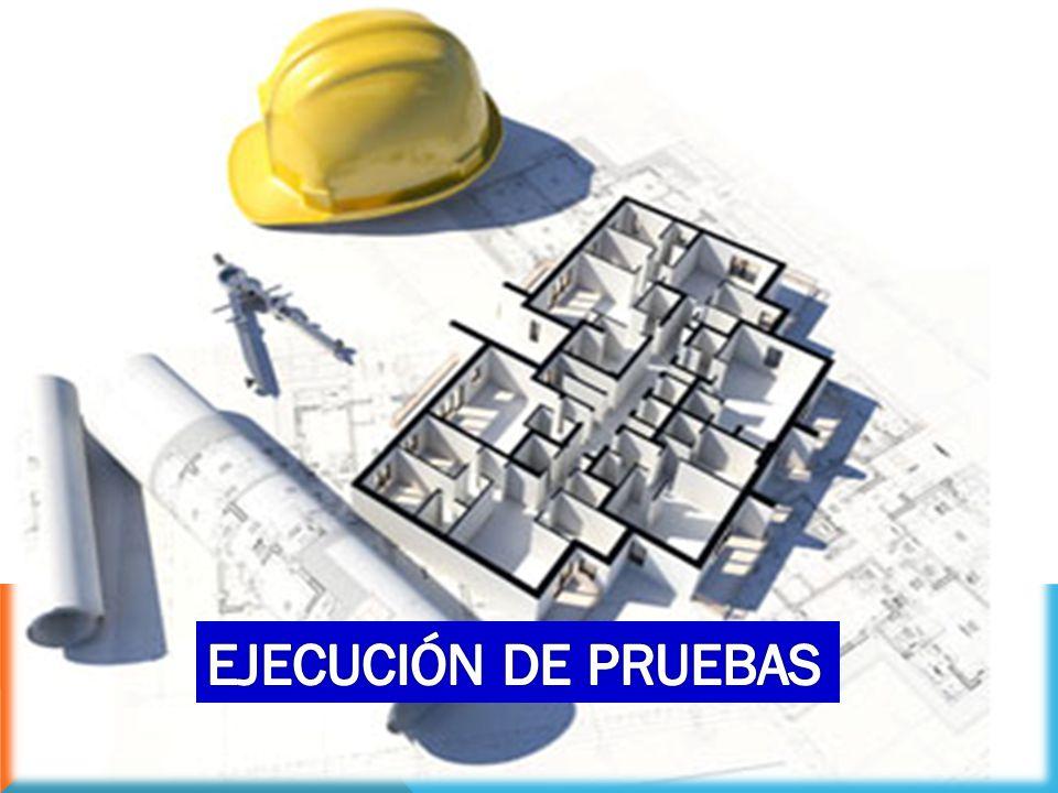 EJECUCIÓN DE PRUEBAS