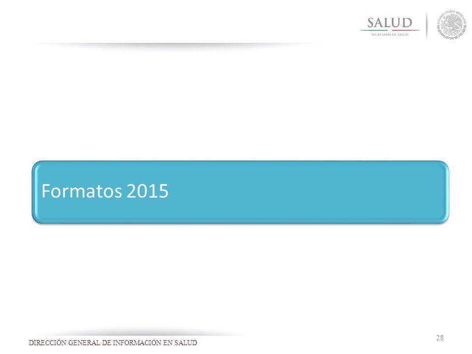 Formatos 2015