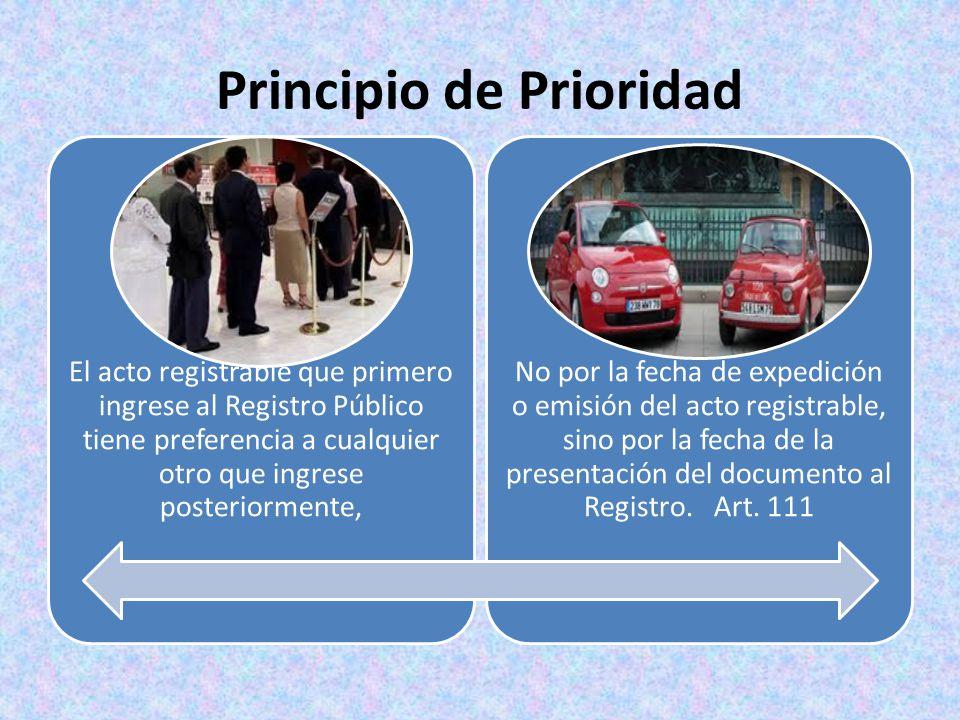 Principio de Prioridad