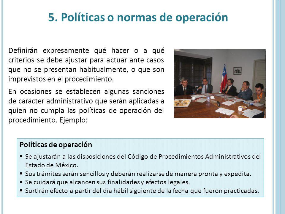 Ejemplo de un manual de politicas normas y procedimientos for Manual de operaciones de un restaurante ejemplo