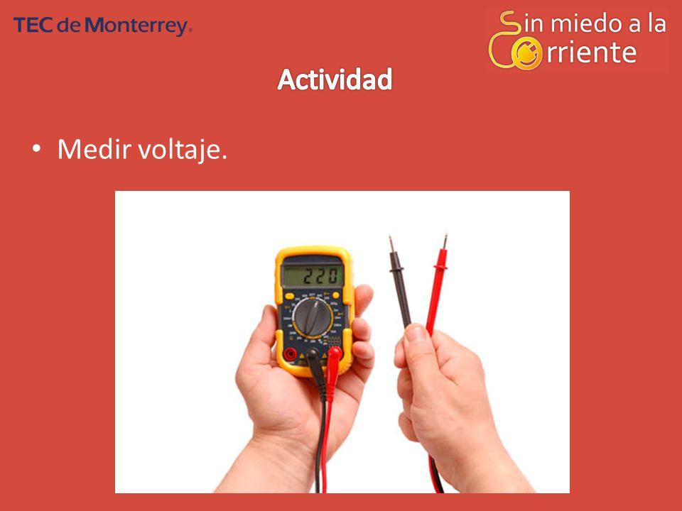 Actividad Medir voltaje.