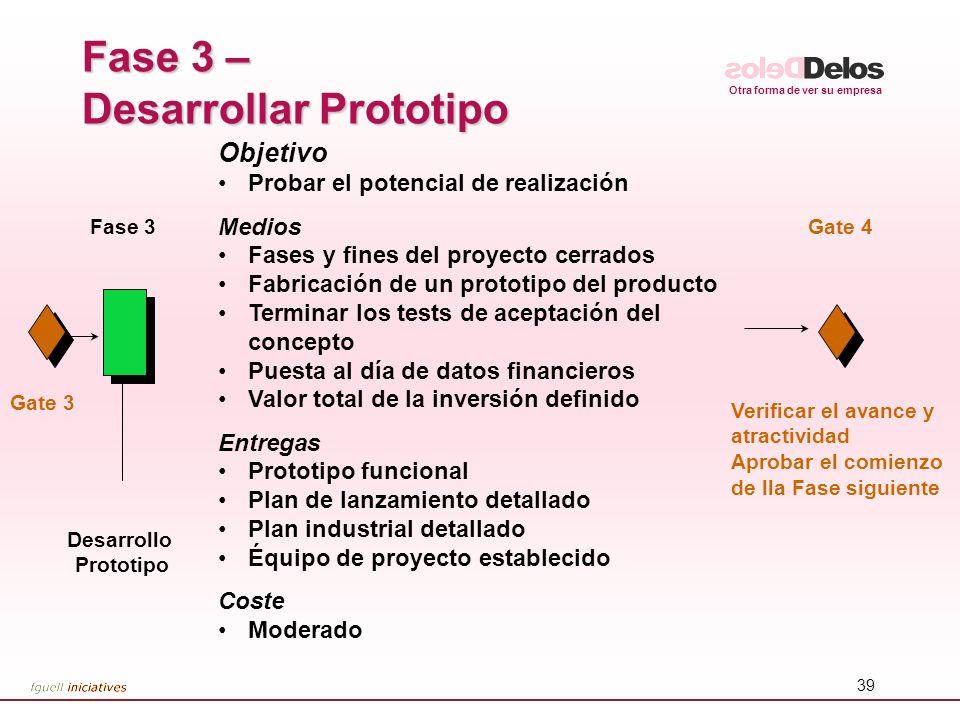 Fase 3 – Desarrollar Prototipo