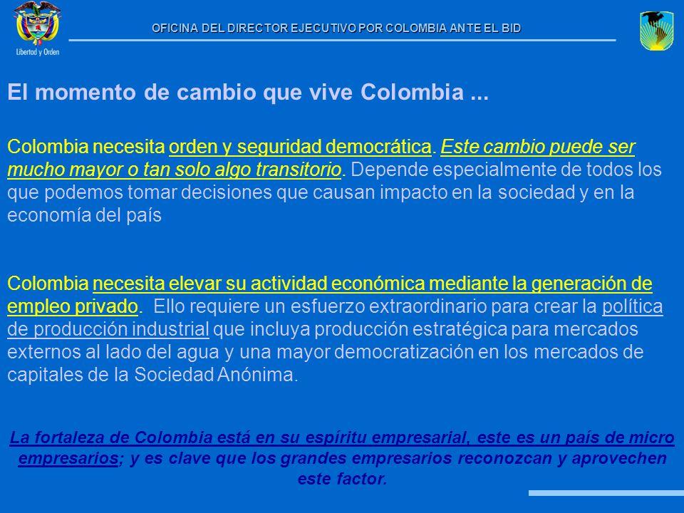 El momento de cambio que vive Colombia ...