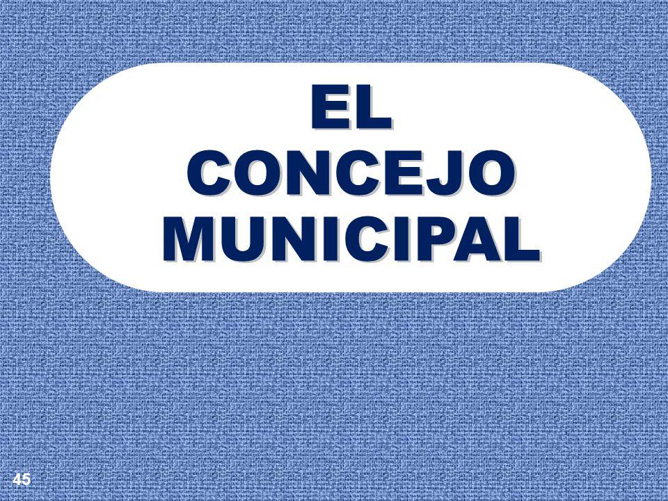 EL CONCEJO MUNICIPAL