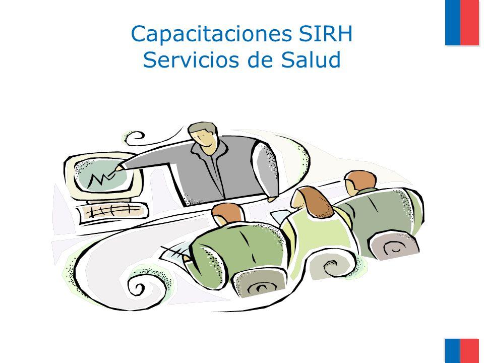 Capacitaciones SIRH Servicios de Salud