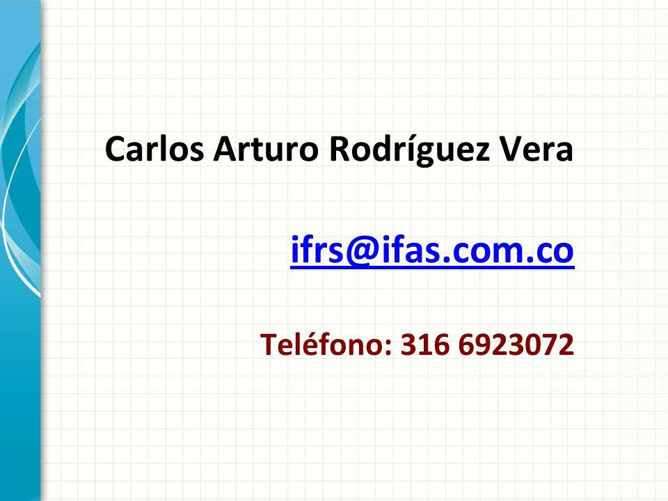 Carlos Arturo Rodríguez Vera