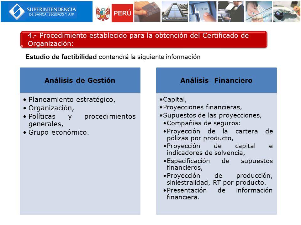 Análisis de Gestión Análisis Financiero
