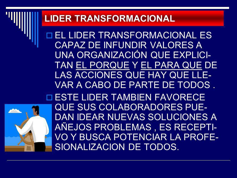 LIDER TRANSFORMACIONAL