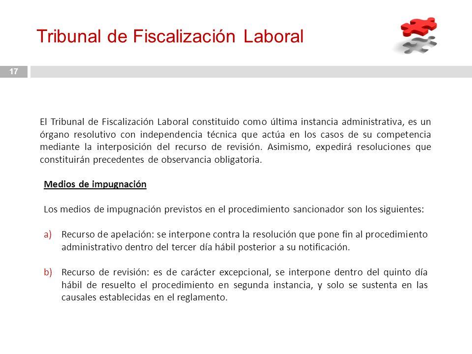 Tribunal de Fiscalización Laboral