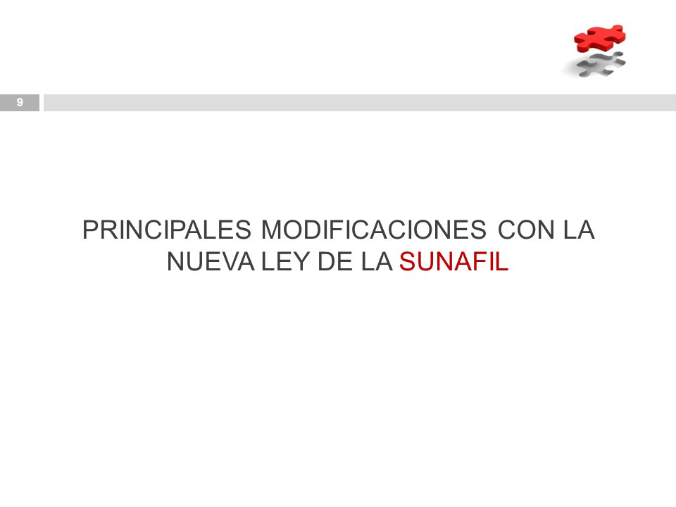 PRINCIPALES MODIFICACIONES CON LA NUEVA LEY DE LA SUNAFIL