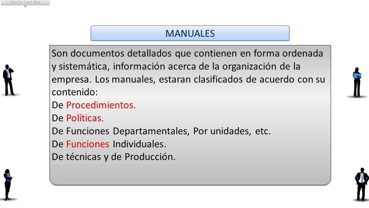 De Funciones Departamentales, Por unidades, etc.