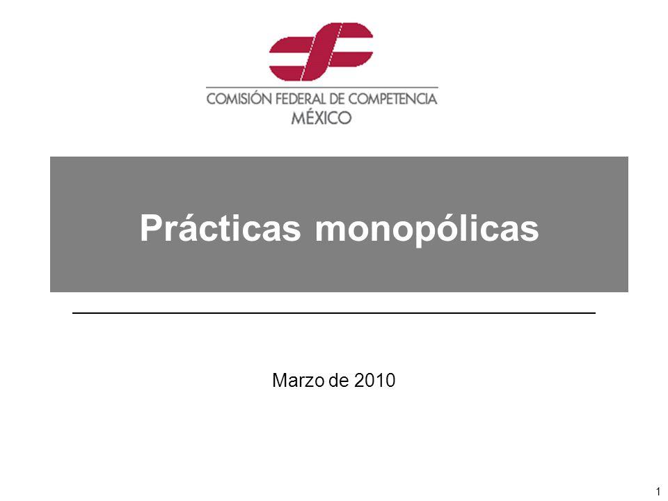 Prácticas monopólicas