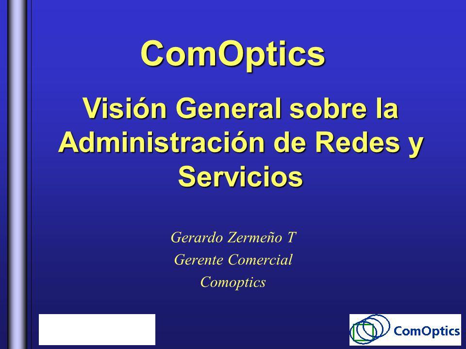 Gerardo Zermeño T Gerente Comercial Comoptics