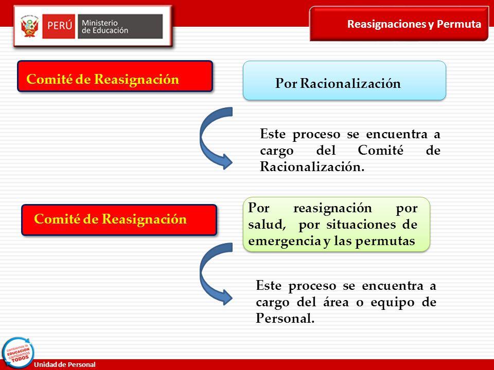Comité de Reasignación Por Racionalización