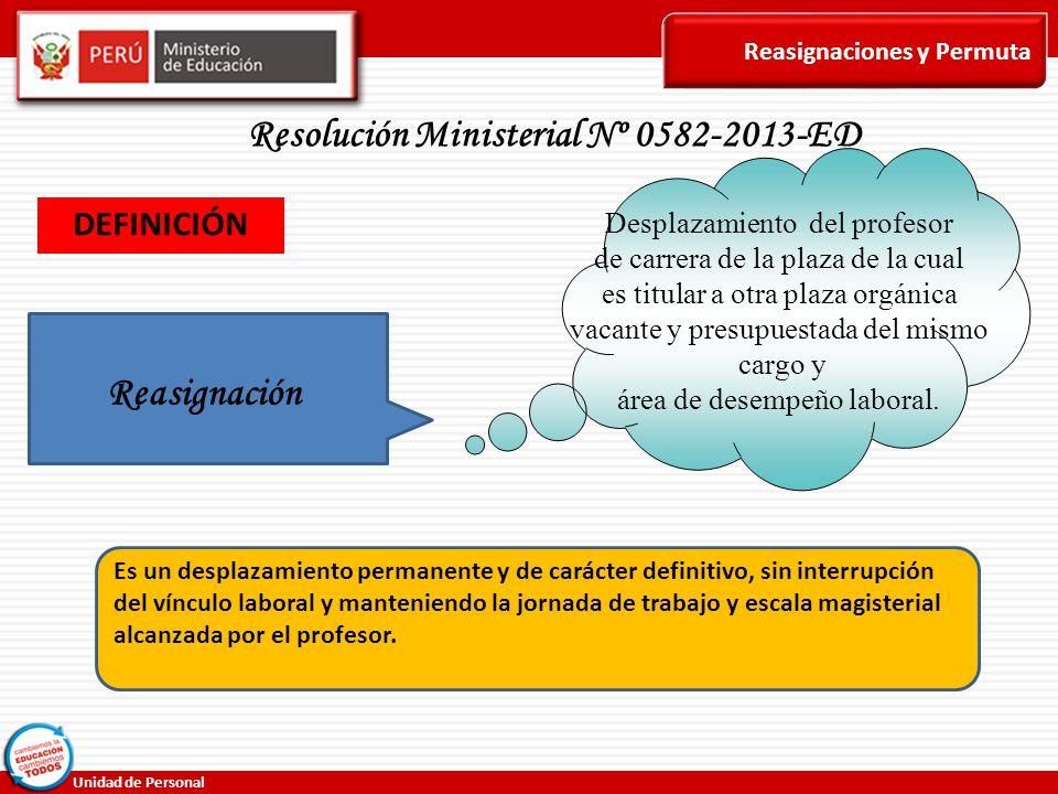 Resolución Ministerial Nº 0582-2013-ED
