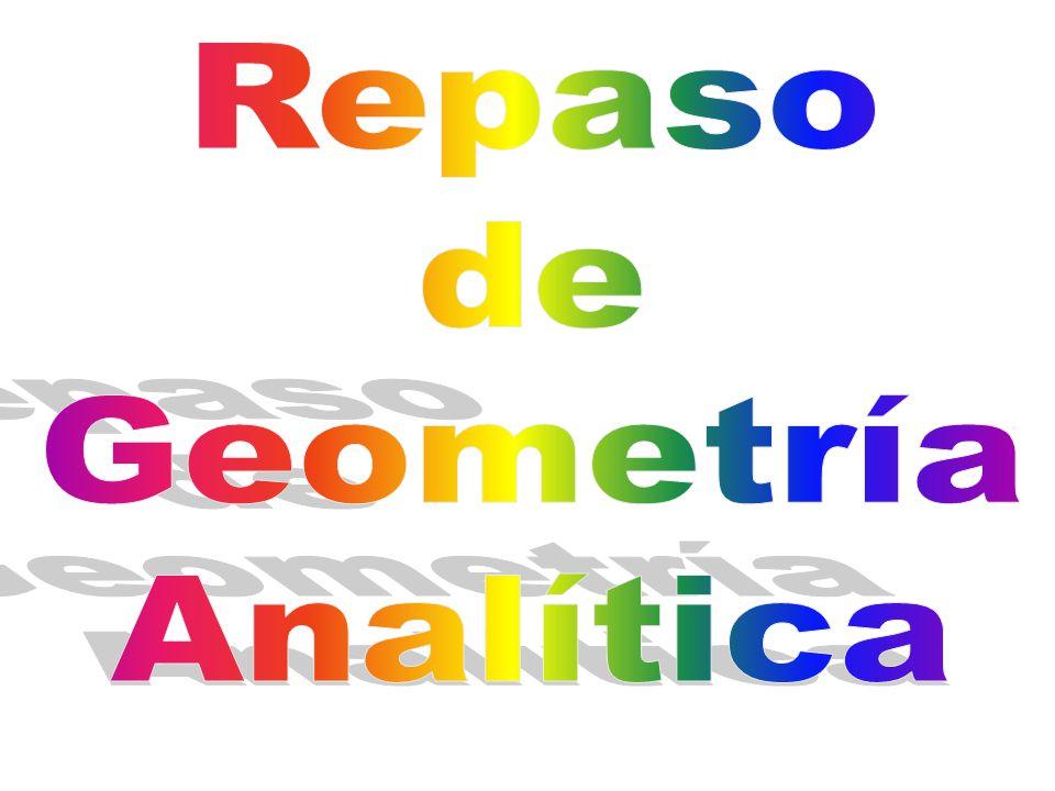 Repaso de Geometría Analítica