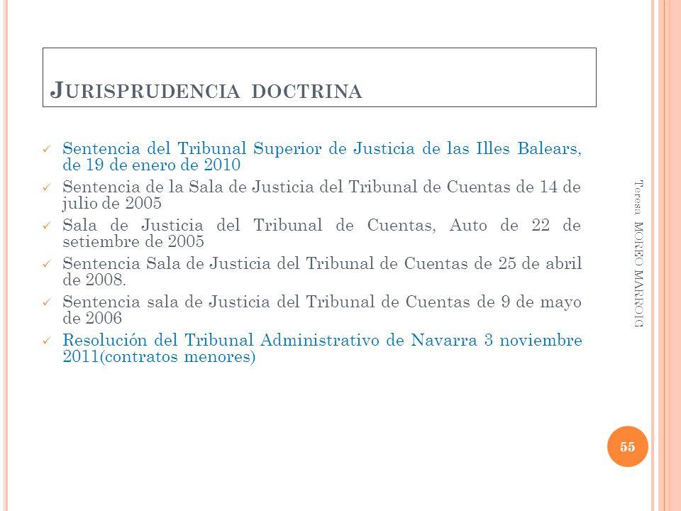 Jurisprudencia doctrina
