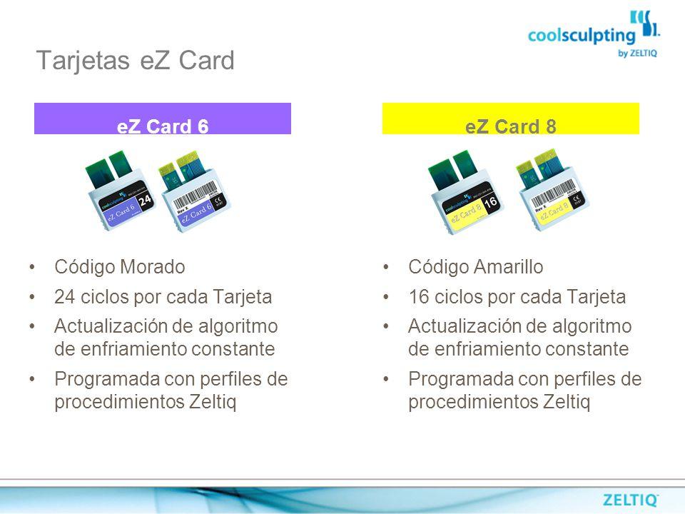 eZ Card 6 eZ Card 8 Tarjetas eZ Card Código Morado