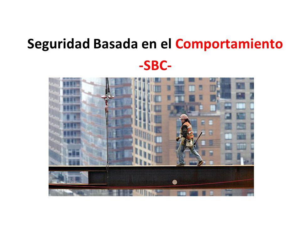 Seguridad Basada en el Comportamiento -SBC-