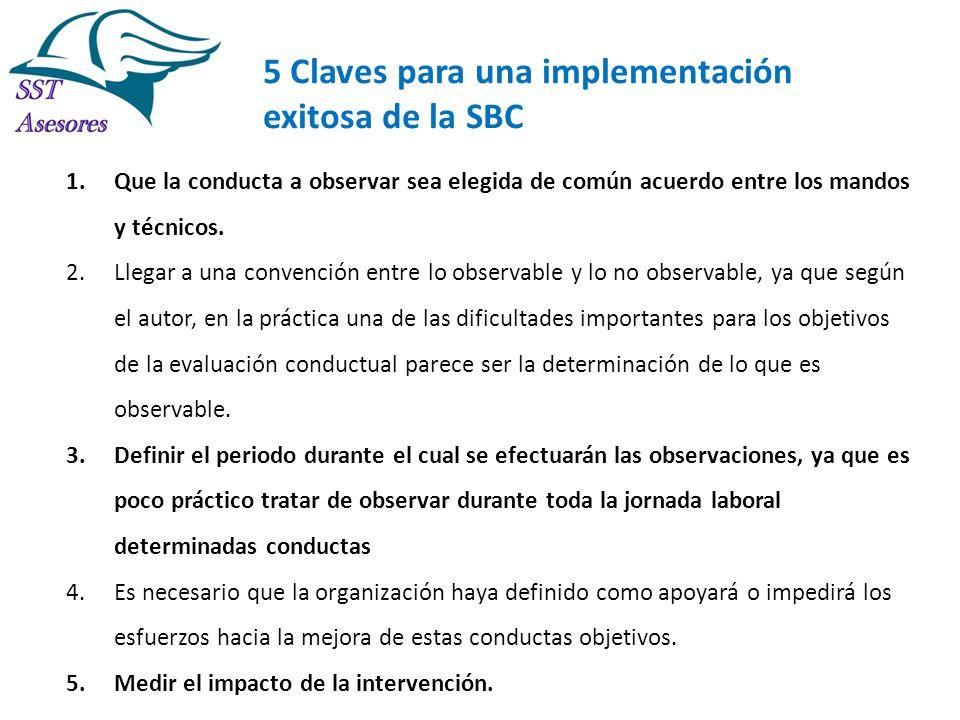5 Claves para una implementación exitosa de la SBC