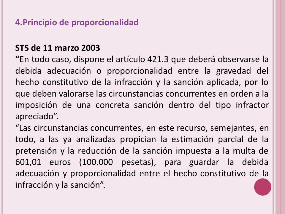 4.Principio de proporcionalidad