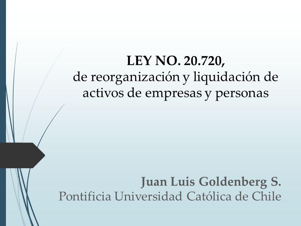 Juan Luis Goldenberg S. Pontificia Universidad Católica de Chile