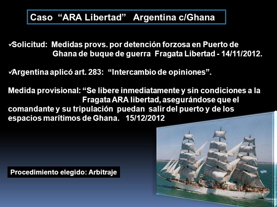 Caso ARA Libertad Argentina c/Ghana