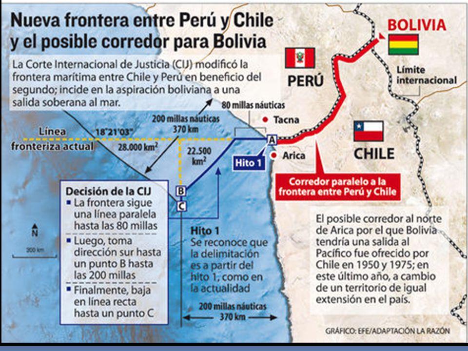DIFERENDO MARÍTIMO (PERU c. CHILE) 27 enero 2014