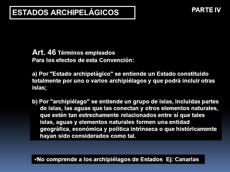 ESTADOS ARCHIPELÁGICOS