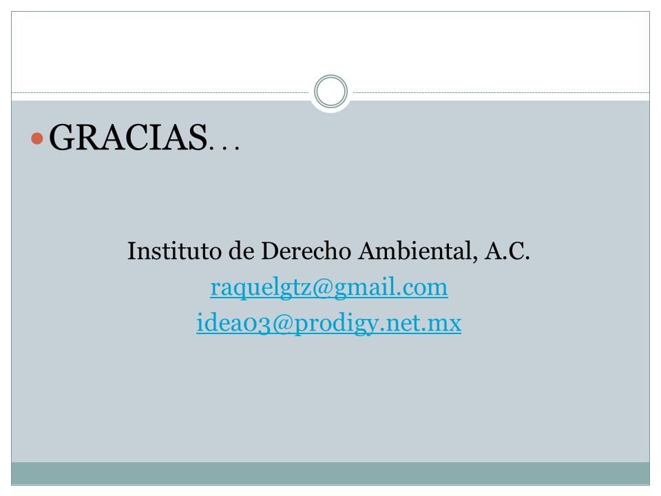 Instituto de Derecho Ambiental, A.C.