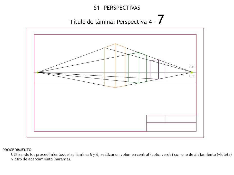 Título de lámina: Perspectiva 4 - 7