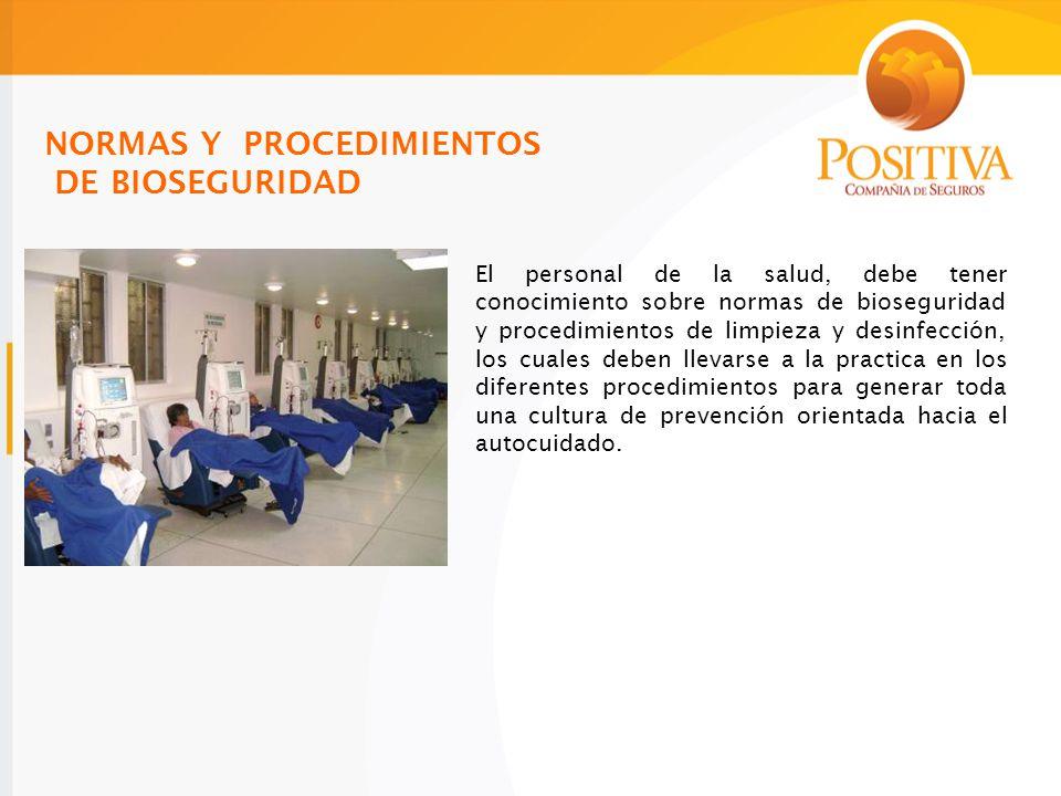 NORMAS Y PROCEDIMIENTOS DE BIOSEGURIDAD
