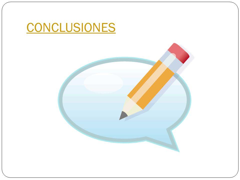 CONCLUSIONES Es un largo y complejo proceso realizar el llenado de la dua