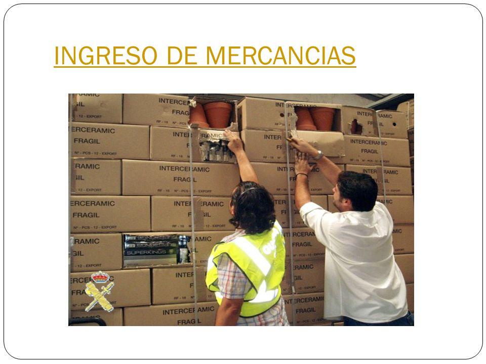 INGRESO DE MERCANCIAS