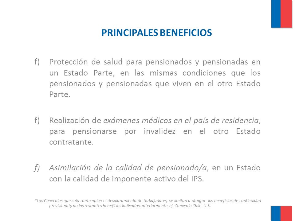PRINCIPALES BENEFICIOS