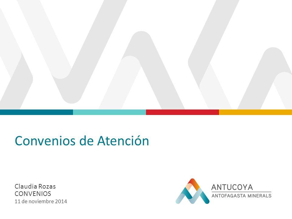 Convenios de Atención Claudia Rozas Convenios 11 de noviembre 2014