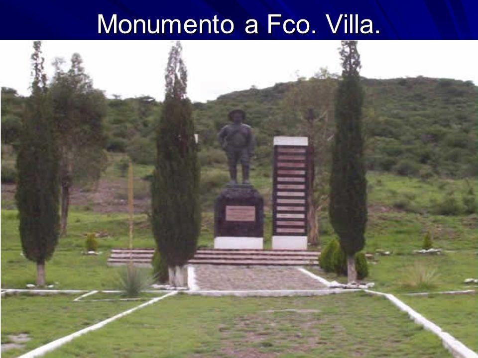 Monumento a Fco. Villa.