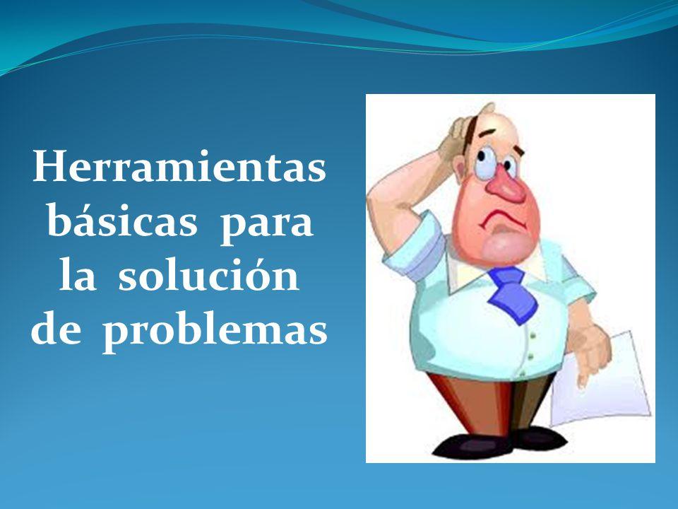 Herramientas básicas para la solución de problemas