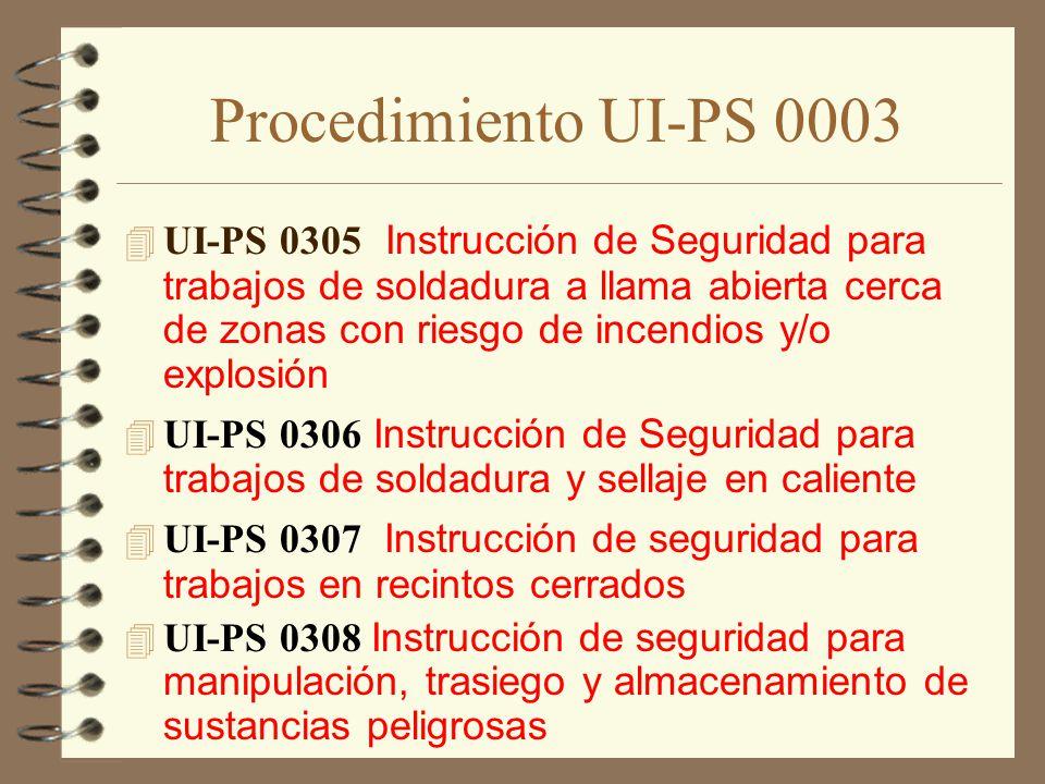 Procedimiento UI-PS 0003