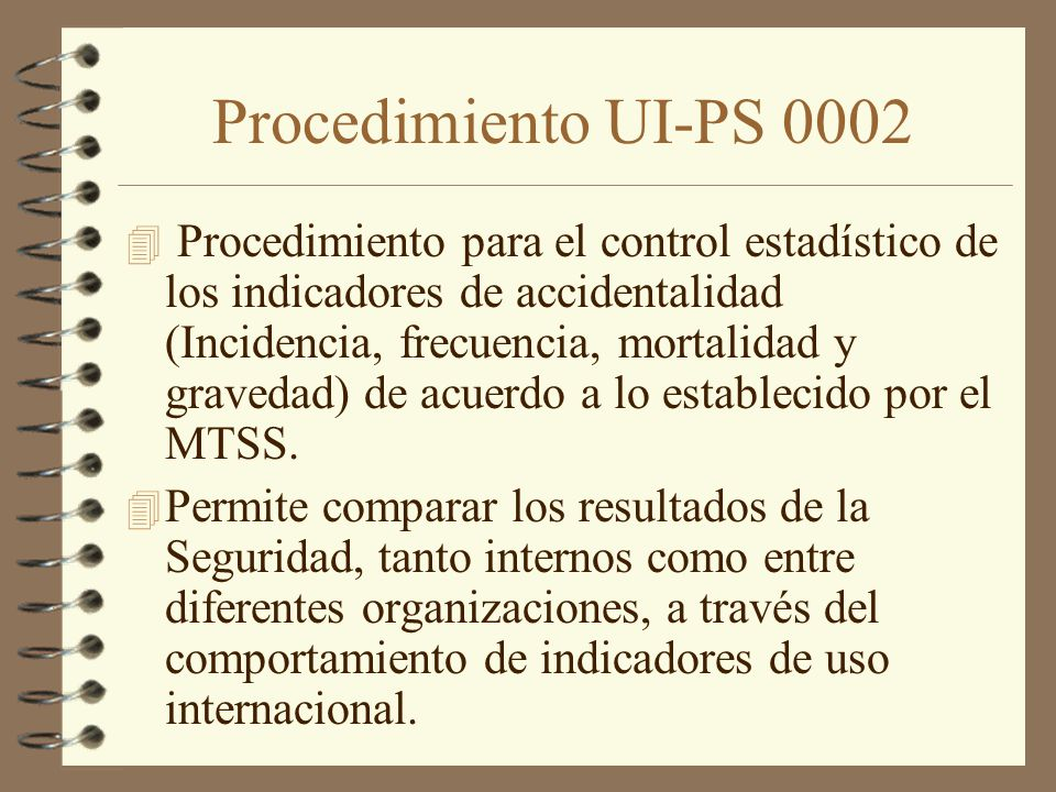 Procedimiento UI-PS 0002