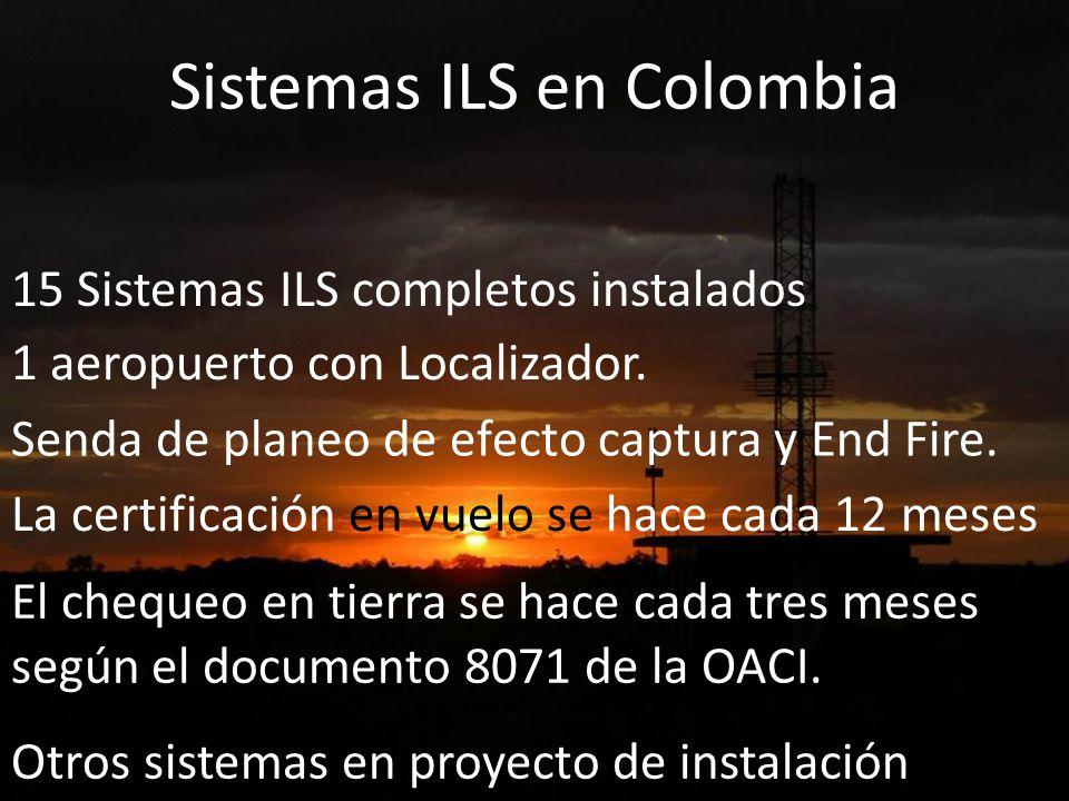Sistemas ILS en Colombia