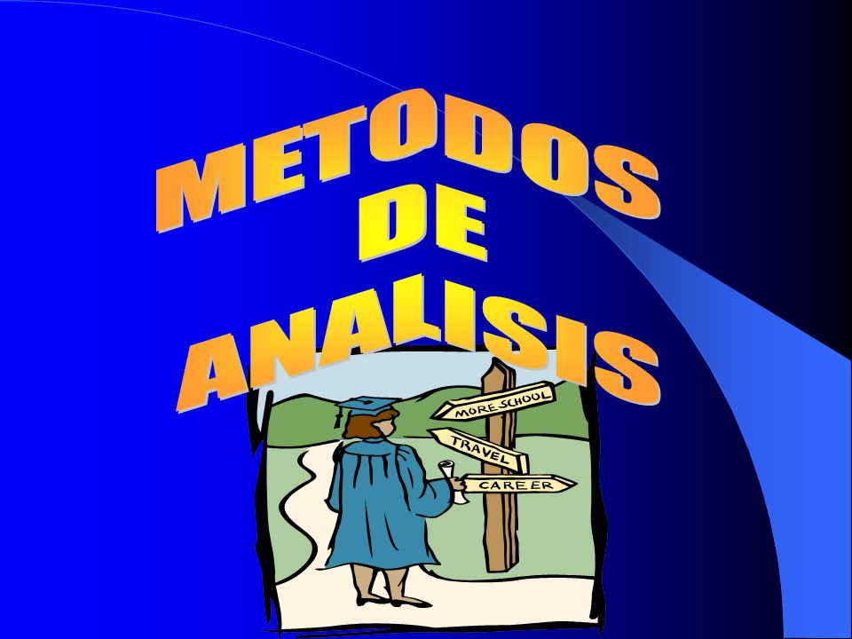 METODOS DE ANALISIS