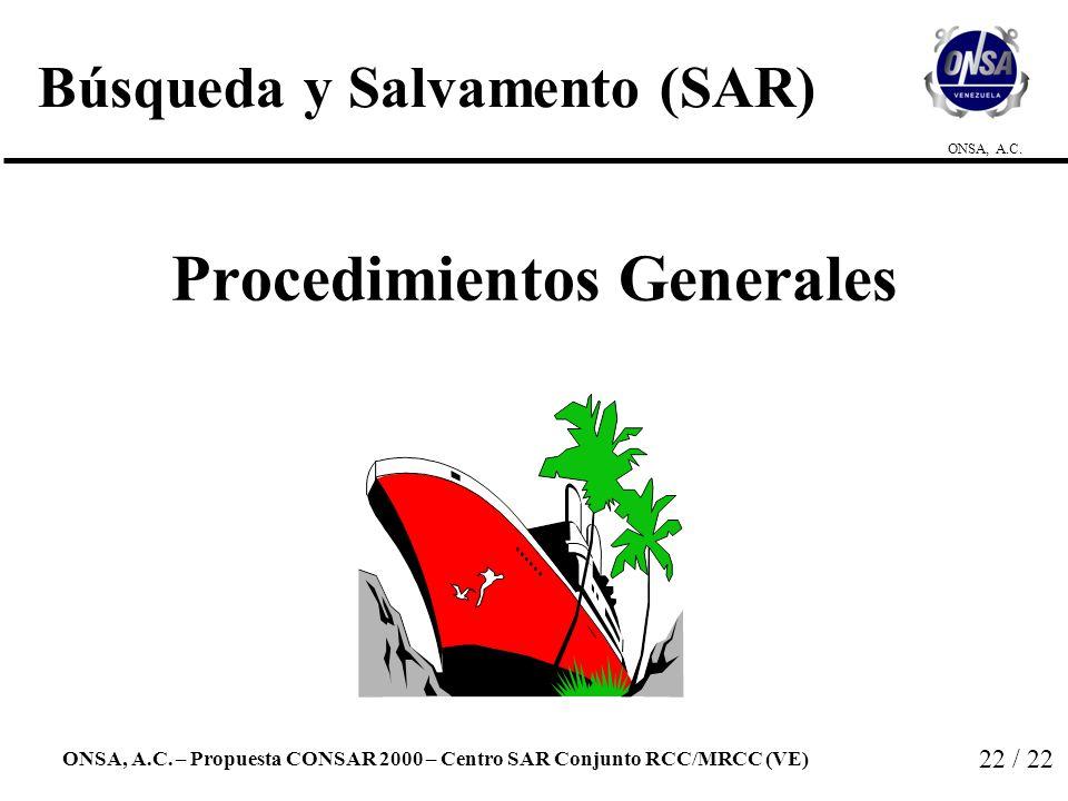 Búsqueda y Salvamento (SAR)