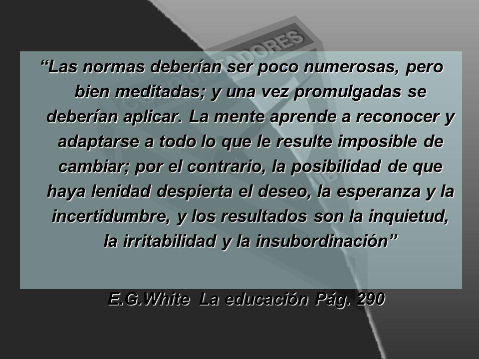 E.G.White La educación Pág. 290