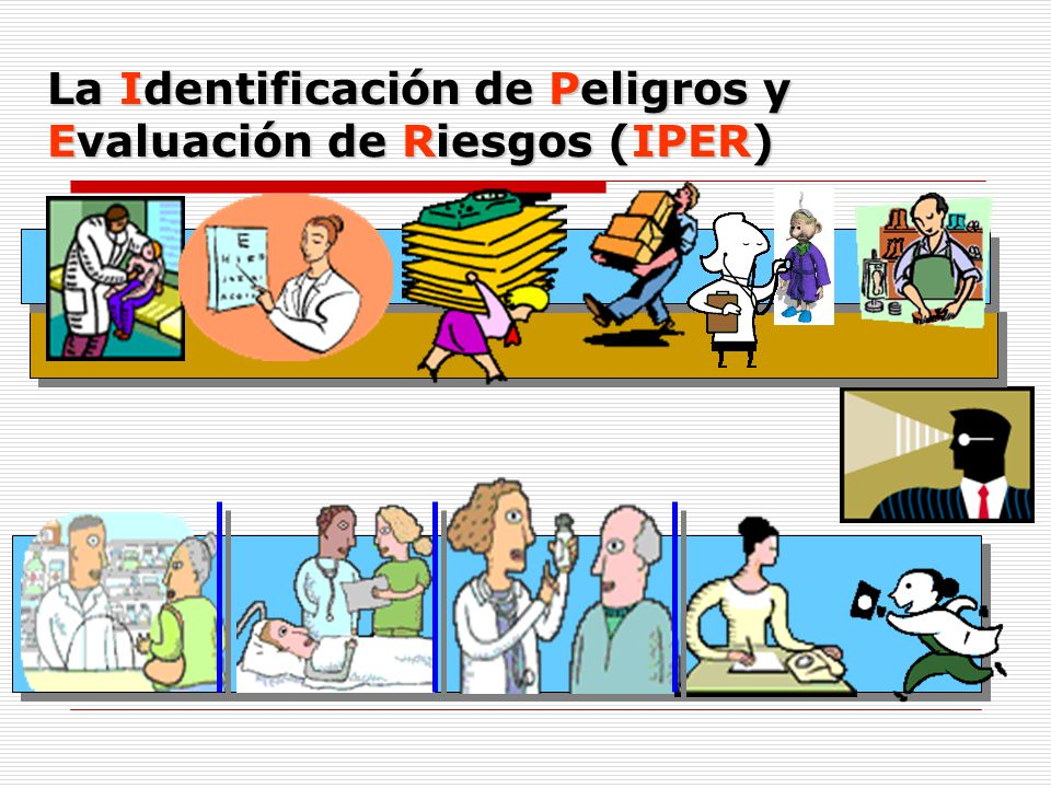 La Identificación de Peligros y Evaluación de Riesgos (IPER)