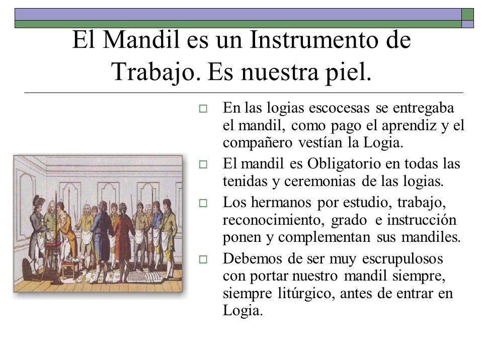 El Mandil es un Instrumento de Trabajo. Es nuestra piel.