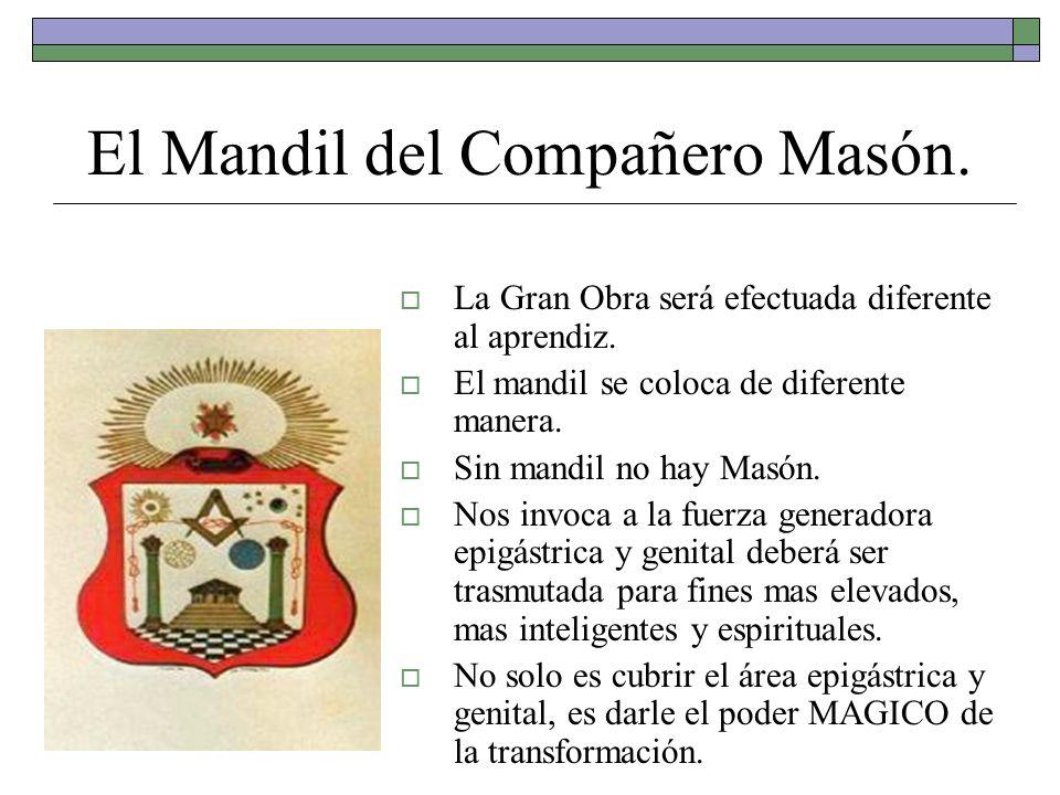 El Mandil del Compañero Masón.