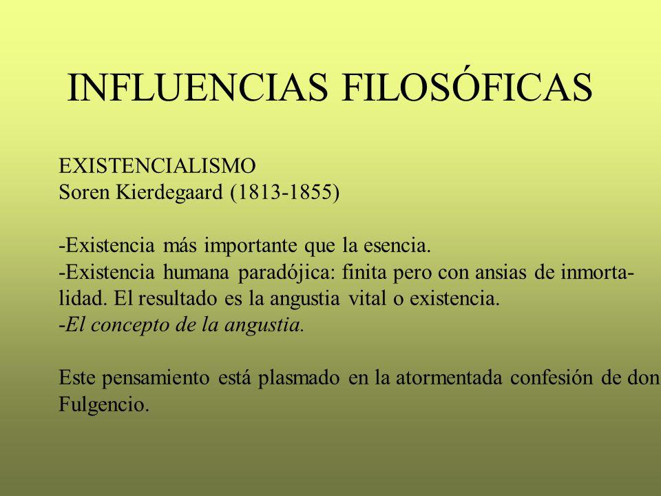 INFLUENCIAS FILOSÓFICAS