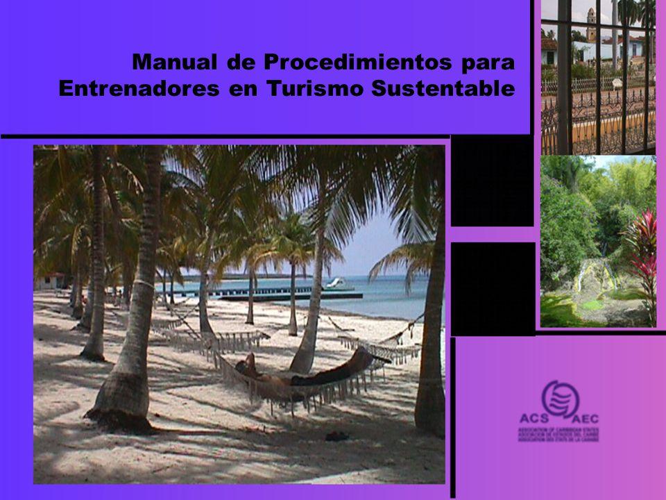 Manual de Procedimientos para Entrenadores en Turismo Sustentable
