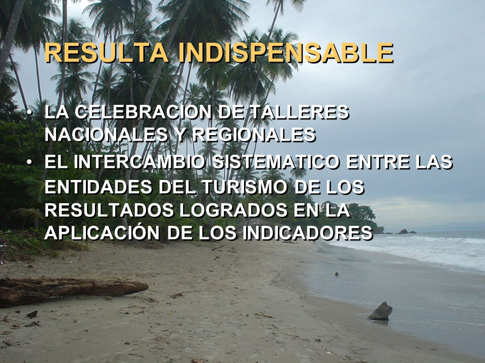 RESULTA INDISPENSABLE
